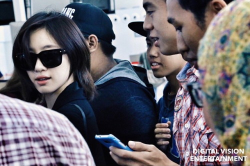 Eunjung @ Brunei airport | Digital Vision