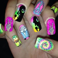 hipster nail art | Tumblr