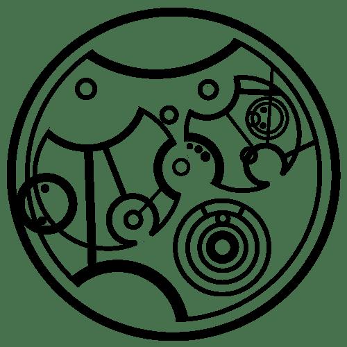words written in circular gallifreyan