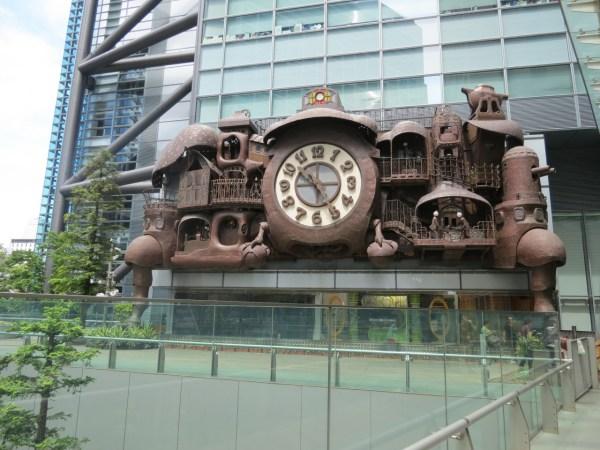 Geek Art Sculpture Miyazaki Steampunk Clock