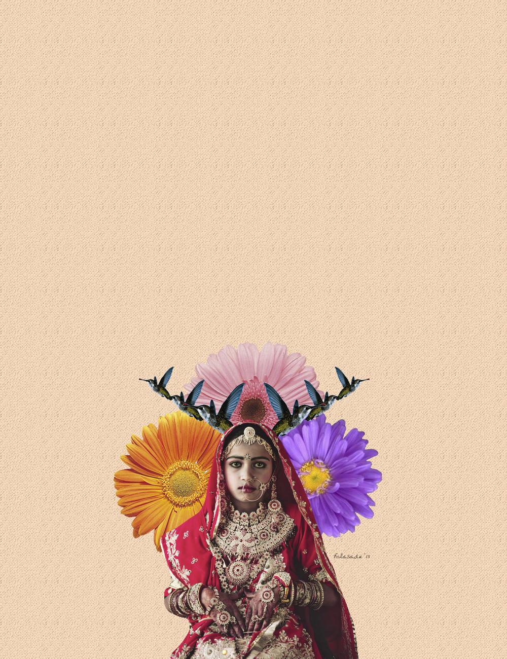 """Indian Hummingbird""<br /> 2013<br /> Art by Folasade<br /> &copy;"