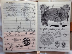 aesthetic grunge drawings journal draw doodles drawing sketches sketch inspiration indie notebook discovered heart entry