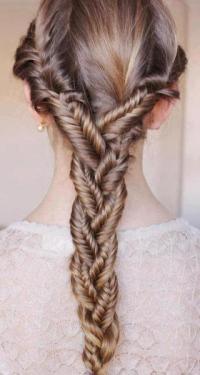 herringbone braid on Tumblr
