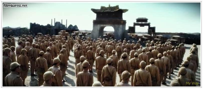 2011,Mai wei,Je-gyu Kang,137 Dak.,Dong-Kun Jang ,Güney Kore,Jô Odagiri,Bingbing Fan,In-kwon Kim,Benim Savaşım,Nazi,Sovyetler,ikinci dünya savaşı,normandiya,Almanya,1944,savaş filmleri,My Way,