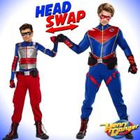 Henry Danger  HEAD SWAP! Meet Kid Man and Captain Danger!!