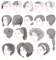 1000 3d hair realistic