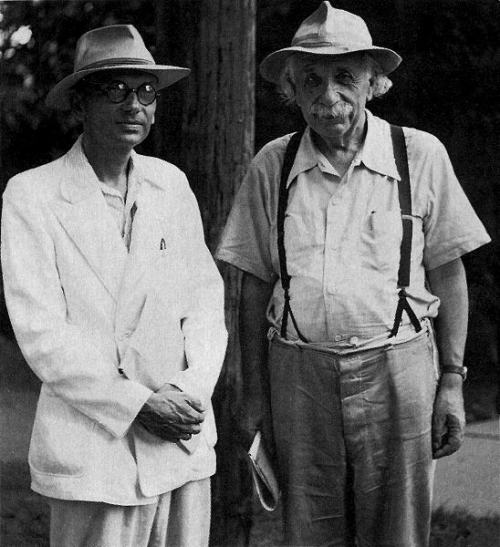 Kurt Gödel and Albert Einstein
