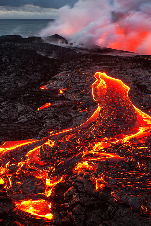 Christmas Wallpaper Gif Animations 1k Volcano Landscape Upload Fire Nature Lava Island Hawaii