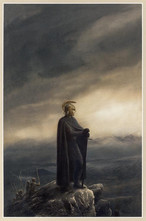 Lotr Falls Of Rauros Wallpaper The Art Of Alan Lee And John Howe