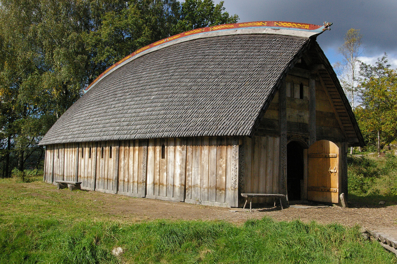 Valsgarde The Viking Longhouse Life Inside A