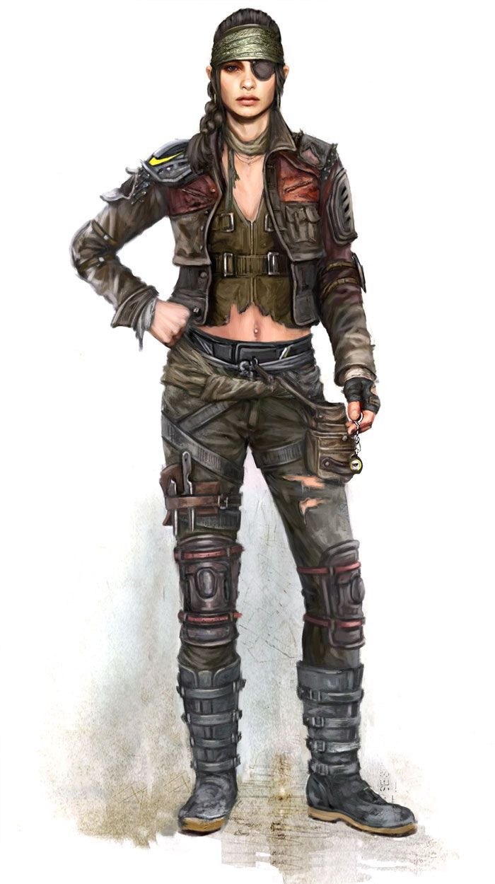 Survivor Zombie Costume