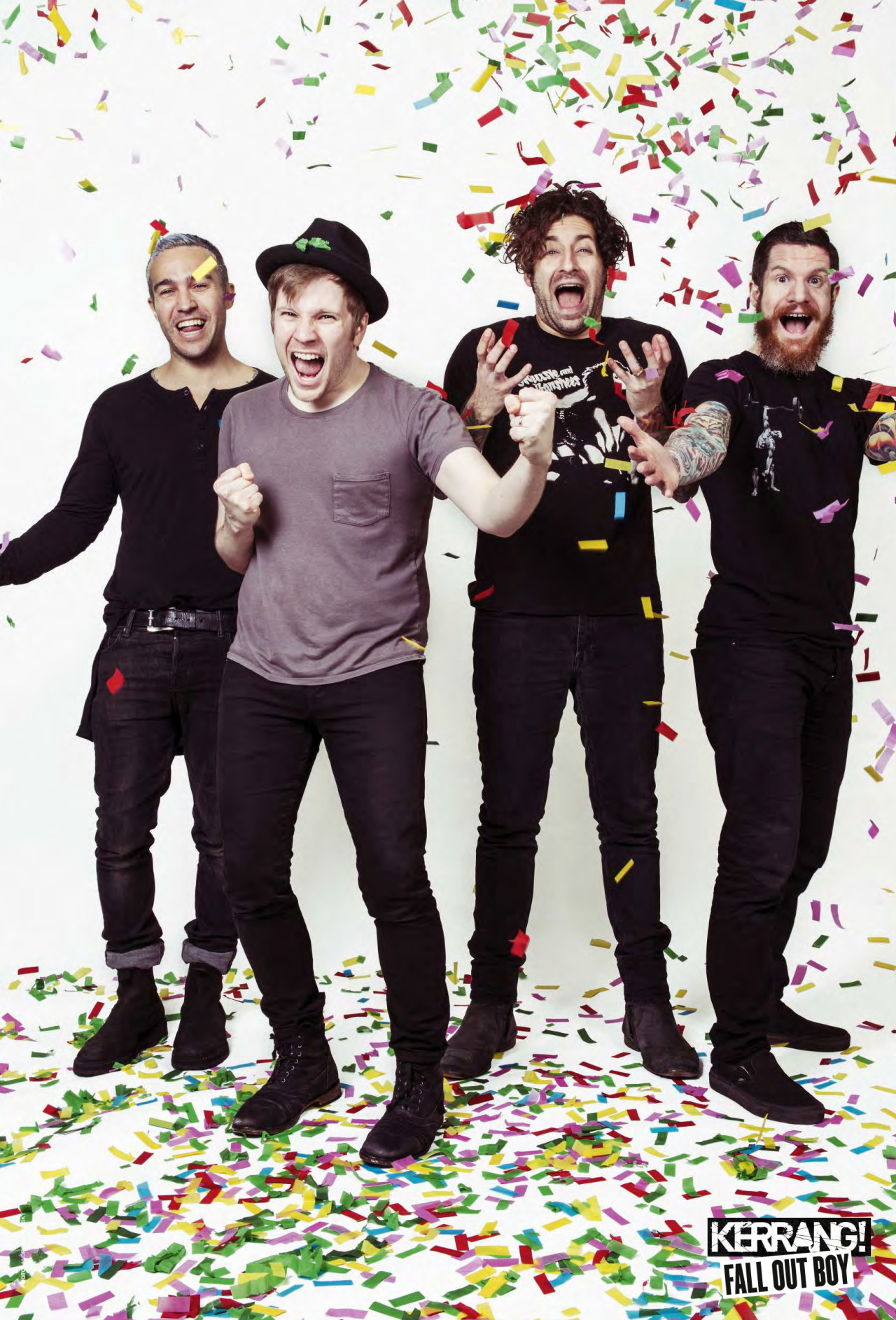Fall Out Boy Mania Wallpaper Iphone Fall Out Boy Poster From Today S Kerrang Magazine
