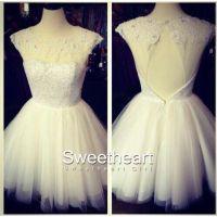 white short formal dress | Tumblr