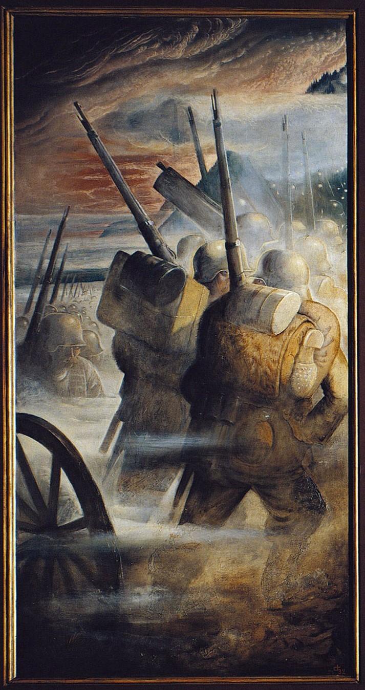 Tableau Otto Dix La Guerre : tableau, guerre, Guerre, Tableau, Descriptive, Essay