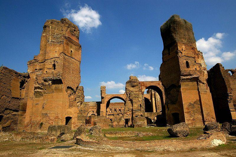 architecture Italy ancient rome Roman Empire caracalla
