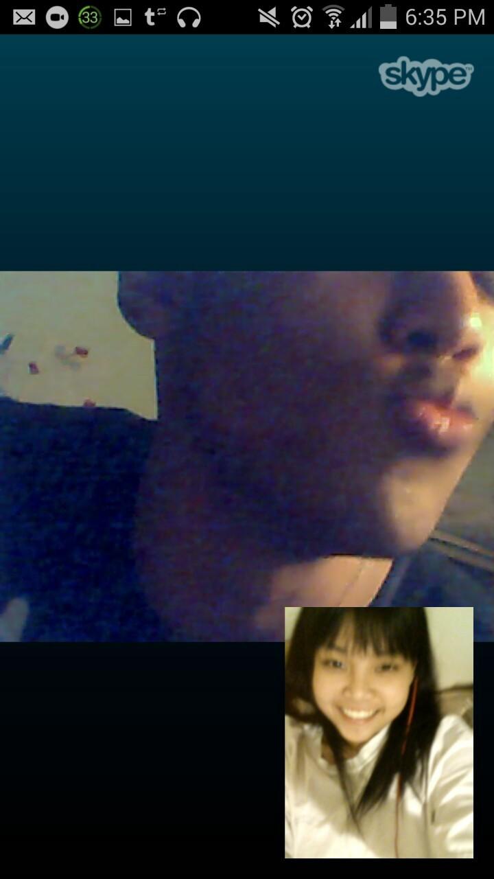 yay Skype kisses