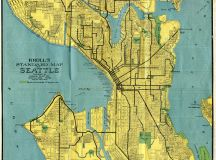 Historical Map: Kroll's Standard Map of Seattle ...