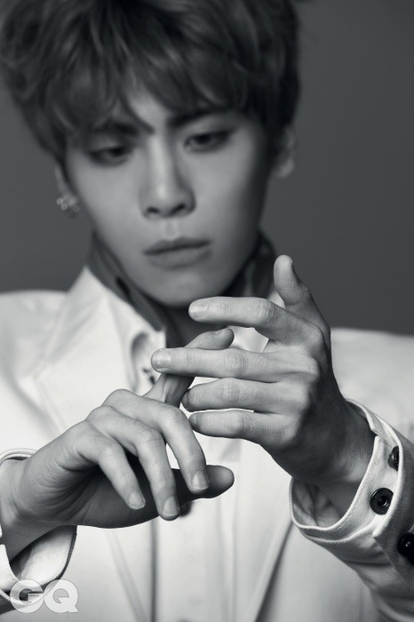 SHINee Jong Hyun - GQ Magazine March Issue '15