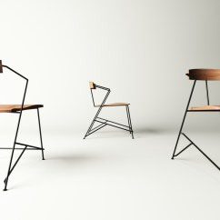 Chair Industrial Design Captain Chairs For Dining Room Table Furniture Series Minimalism Minimal Timber