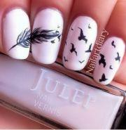 bird nail design