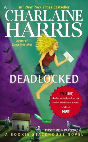 Deadlocked by Charlaine Harris</p><br /><br /> <p>It has been more then eight years since I first picked up the book Dead Until Dark by Charlaine Harris. Like many of you, I will read nearly anything put in front of me (maybe with the exception of a western). I was delighted – if not a little surprised – that this series was so wonderful. Not only was it an easy read, but it appeals to so many different people for just as many reasons. It wasn't long before I'd convinced my dad to read the books as well – he is an avid science fiction lover- and now I had someone to share my delight with.  </p><br /><br /> <p>What I love most about the Sookie Stackhouse series is the plot development. Considering how only one book was released each year, Harris is a master at giving old information without the reader feeling like the book is being dumbed down. While I've read several of the books a half dozen times, I didn't reread them this time around after not picking one up in more then three years. Happily, I didn't feel lost or confused about anything. The development of characters and huge plots are over the course of many books. Often, we meet a character, or something happens and we never know how it resolves –if at all – until a couple of books later. There are never large time gaps –sometimes the next book picks up the following day or week – and it feels as though the reader has had the opportunity to share in Sookie's life, instead of simply another adventure. It doesn't mater how special someone is in the book; they all have to survive. They all work, pay bills, shower. It's one of the things that makes each character relatable in one way or another.</p><br /><br /> <p>I'm sure there is the wise ass right now asking, if I loved the books so much then why did I put off reading the twelfth installment in the series especially when the last book has been out nearly a year now. The answer is simply this: Sometimes when something is so good, you want it to last, and never end. If I never got to the end, then that meant that somewhere there would always be more. I've come to terms with this in the past week and delved in. It was as delicious as southern comfort food.</p><br /><br /> <p>Many old favorites were back, even a short reprise of Bubba and Quinn –two of my longtime favorite side characters – but others seemed to be a little lacking in this book – i.e. Pam and Eric. Although there was lots of talk about Erik, there seems to be a distinct lack of him. I'm hoping, as it usually does, that this will work out in the final book Dead Ever After. Although by the end of a dead body escaped, I get the feeling that things will not end the way many long time readers (myself included) will want. I'm sure that Charlaine Harris will be true to her characters. Even though I would love to see more Eric, we all know that it won't last.</p><br /><br /> <p>Although still not my favorite in the 13 book romp, it was still well worth the read. I can't decide which I liked more: Dead to the World – I'm sure you know whom I'm voting for – or All Together Dead. If you haven't read them before, now is as good of a time to start as any. You can pick up the first book from your local used bookstore. It's 300 pages that can be gobbled up quicker then you can make a pecan pie!</p><br /><br /> <p>-Miranda