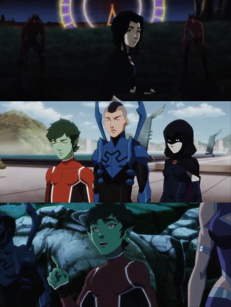 Justice League V S Teen Titans