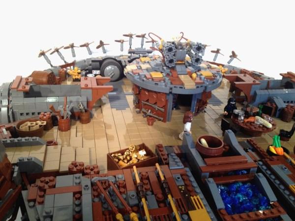 Geek Art Lego Creation Steampunk Falcon