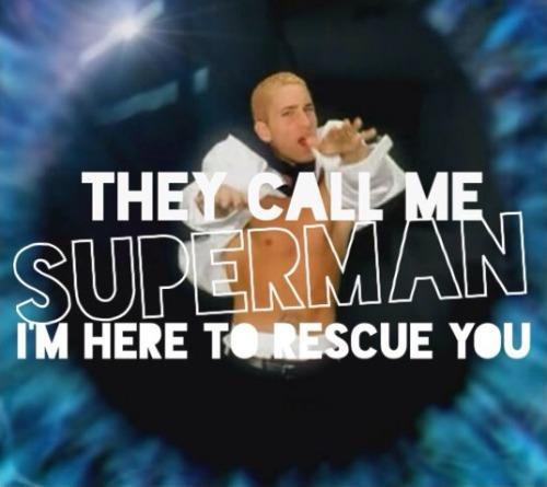 eminem superman on Tumblr