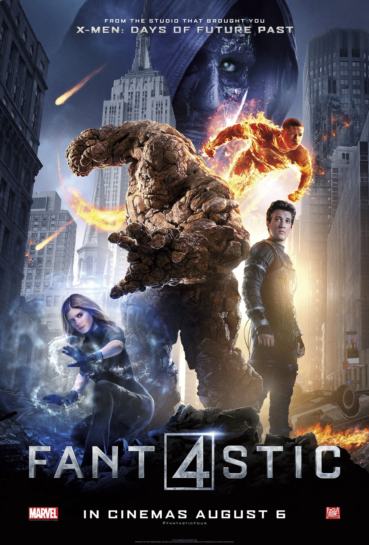 【Poster】Fantastic Four / 驚奇4超人 – We Have Some Cult Problems