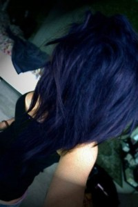 navy-blue-hair | Tumblr
