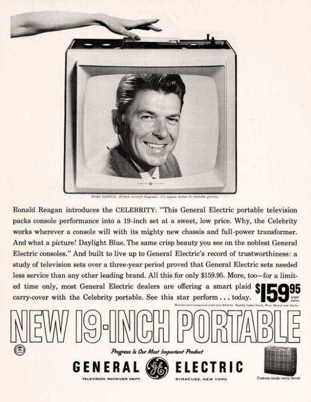 General Electric featuring Ronald Reagan - 1961