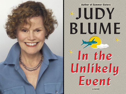 In the Unlikely Event By Judy Blume Reviewed by Miranda BoyerIn the Unlikely Event is<br /> Judy Blume's highly anticipated new novel, and only one of four aimed at an<br /> older audience in Blume's career. In the vain of Summer Sisters, this novel is told through the many eyes of a town.<br /> In the Unlikely Event takes place in<br /> the 1950s in Elizabeth New Jersey where three planes fell from the sky in less<br /> then sixty days. Pulling from the backdrop of her own experience living through<br /> these actual events, at 77 years old, Blume depicts a time when Elizabeth<br /> Taylor haircuts and A-bomb hysteria were very real.  I know that a lot of people found tracking the various<br /> characters difficult, the biggest complaint about this book, however I didn't<br /> find it to be anything new. One of my favorite books is Judy Blume's Summer<br /> Sisters and it was written in a similar fashion. I found it refreshing and<br /> ultimately unique story telling device that enriched the narrative. While the crashes are at the center of the story<br /> manipulating the lives of each character, this narrative is really a coming of<br /> age story. The reader experiences these events from three generations of<br /> families, friends, and strangers.Bulme successfully honors the real victims of these tragic<br /> events by bringing to life the facts surrounding the plane crashes in New<br /> Jersey. In the Unlikely Event is an enchanting<br /> story of life's ordinary and extraordinary events.