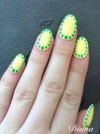 oval nail art | Tumblr
