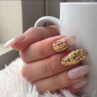 clear acrylic nails | Tumblr