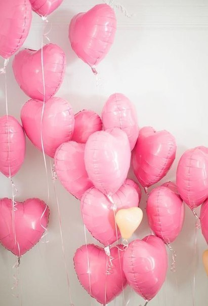 Pretty Pink Balloons Tumblr