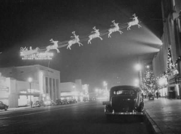 Wilshire Boulevard - Los Angeles, California U.S.A. - 1937