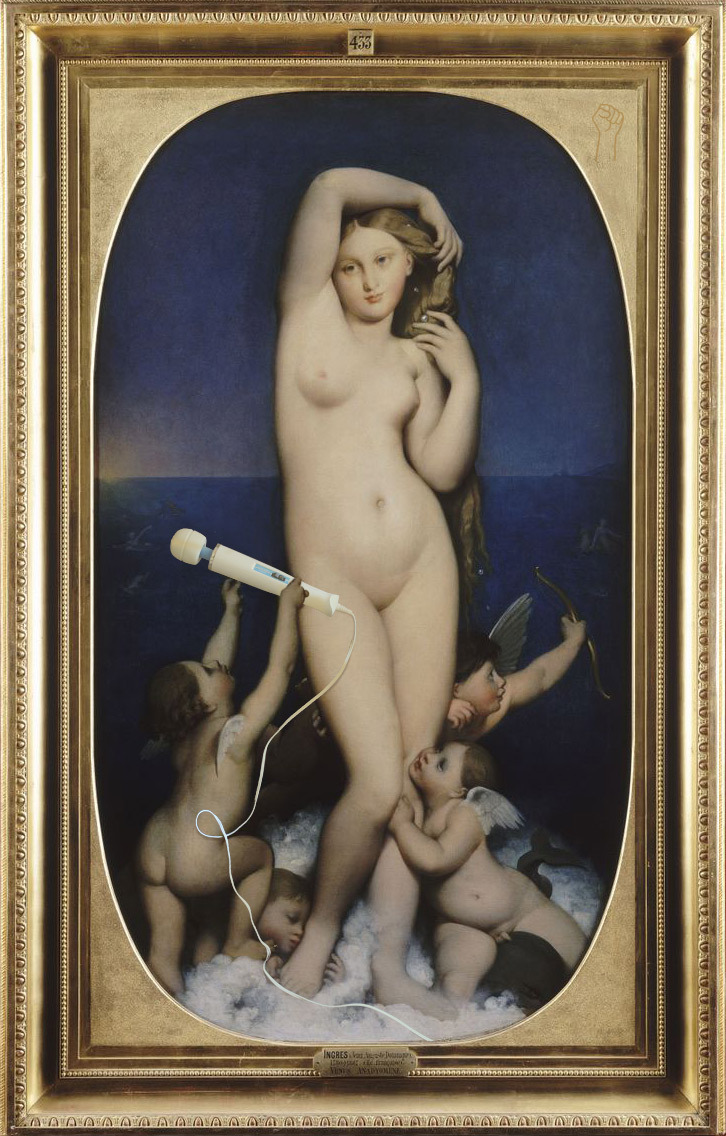 Venus Hitachi by Jean-Auguste-Dominique Ingres.