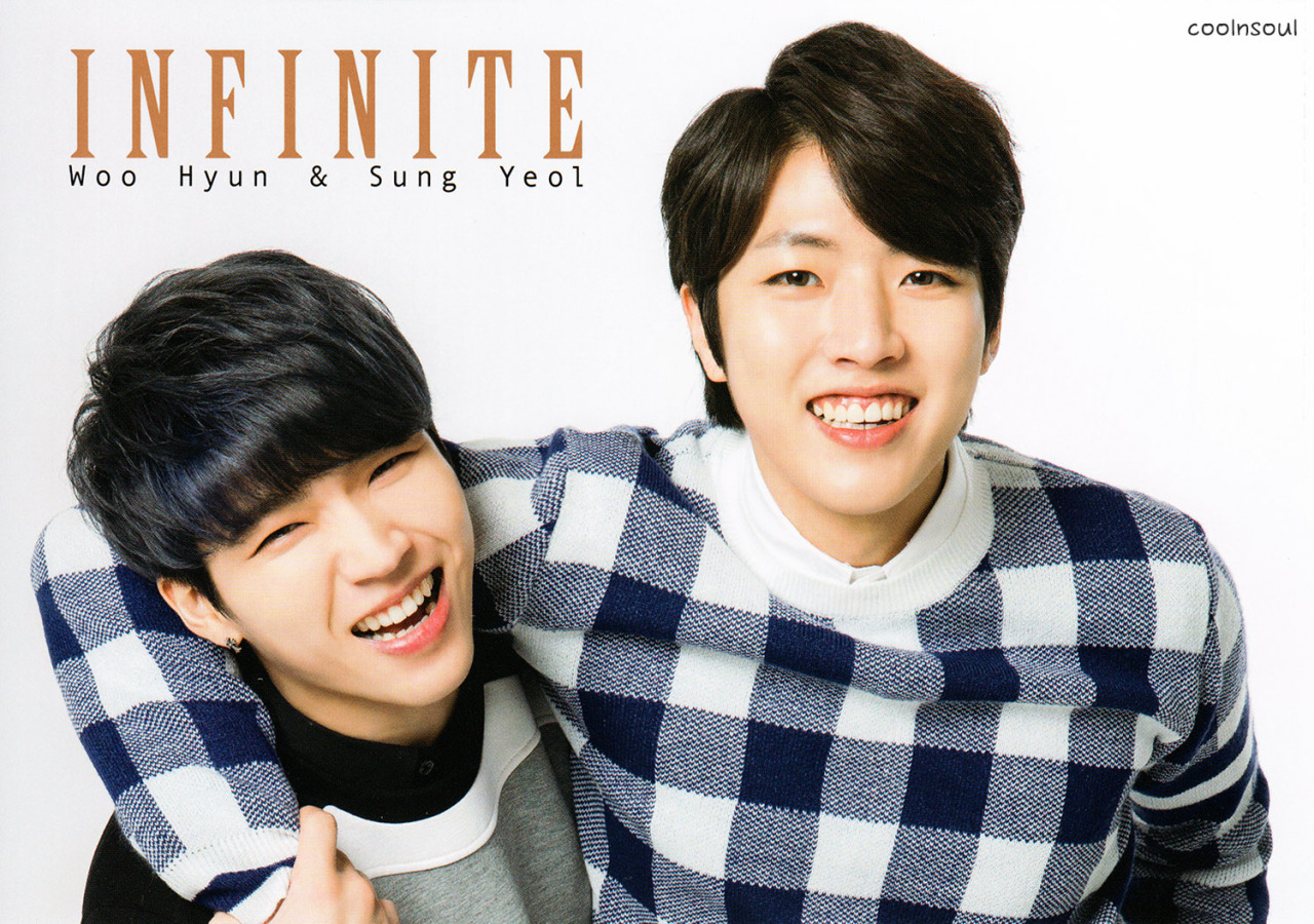 [Photoshoot] INFINITE Woohyun and Sungyeol for K-Boy ...