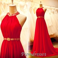 Prom Dress Project  2015 cute strapless open back red ...