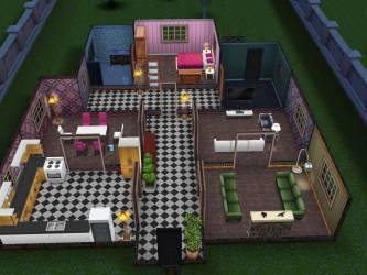 Floor Plan Sims Freeplay House Ideas