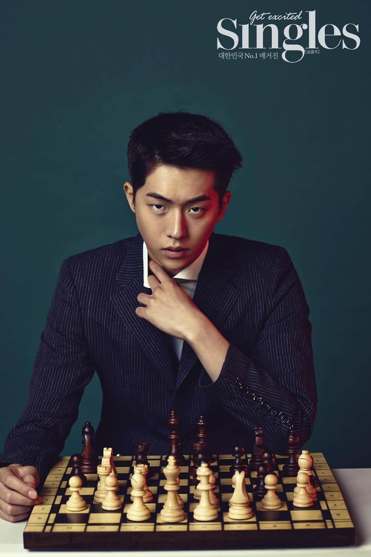 Nam Joo Hyuk - SIngles Magazine August Issue '15