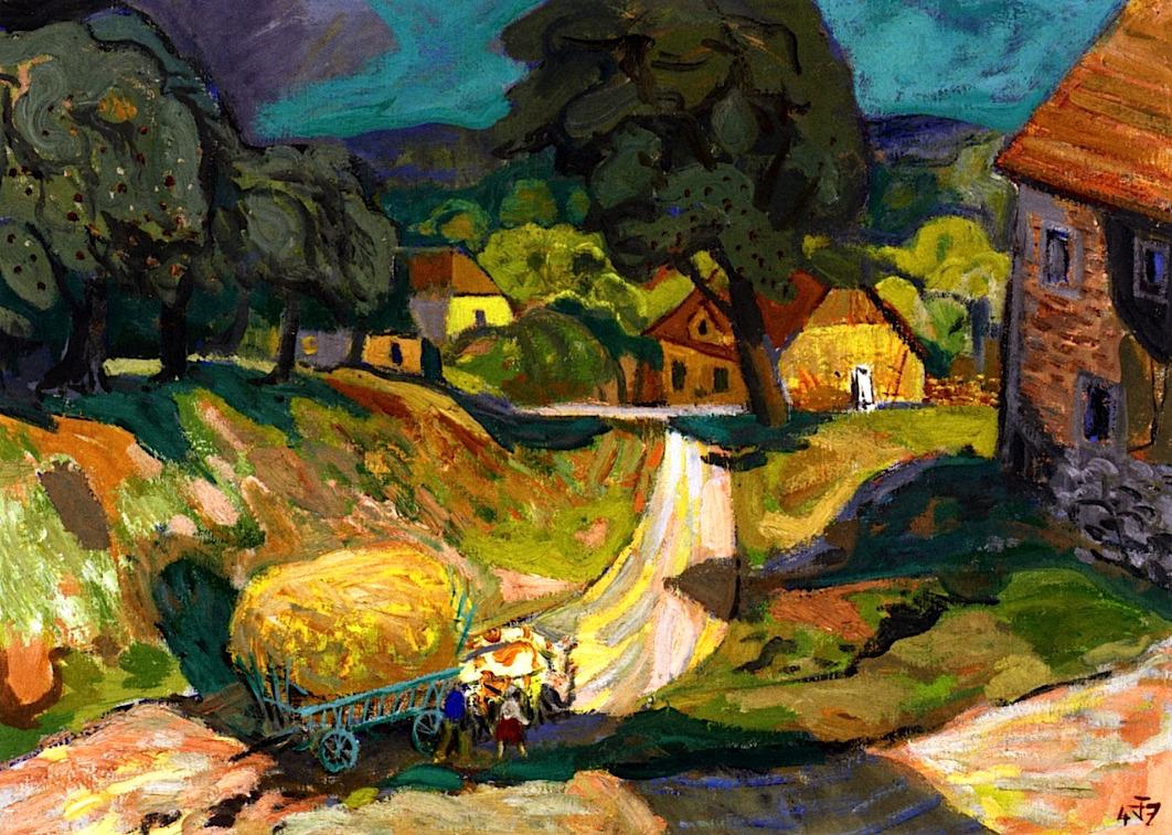 bofransson: Landscape Otto Dix - 1947