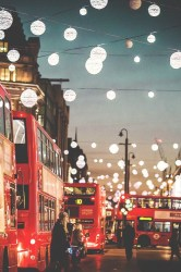 light tumblr hipster vintage indie night city london wallpaper retro house red bus iPhone Wallpaper resonares •