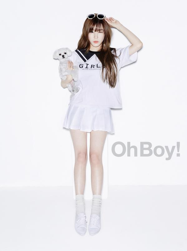SNSD Tiffany - Oh Boy! Magazine Vol.54
