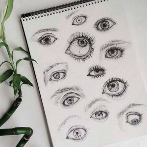 drawing hipster grunge drawings draw eyes person