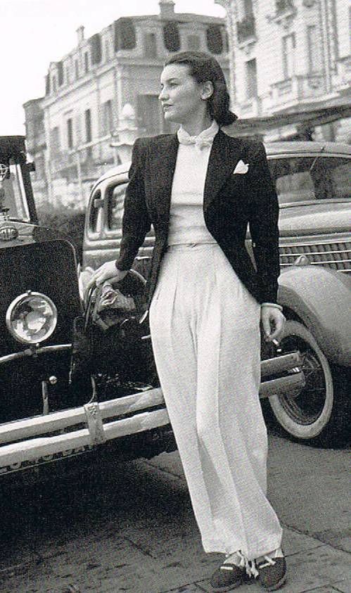 Chanel in Cannes, 1939