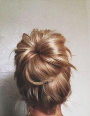 bun wedding hair