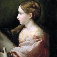 Parmigianino - Santa Barbara (1523)