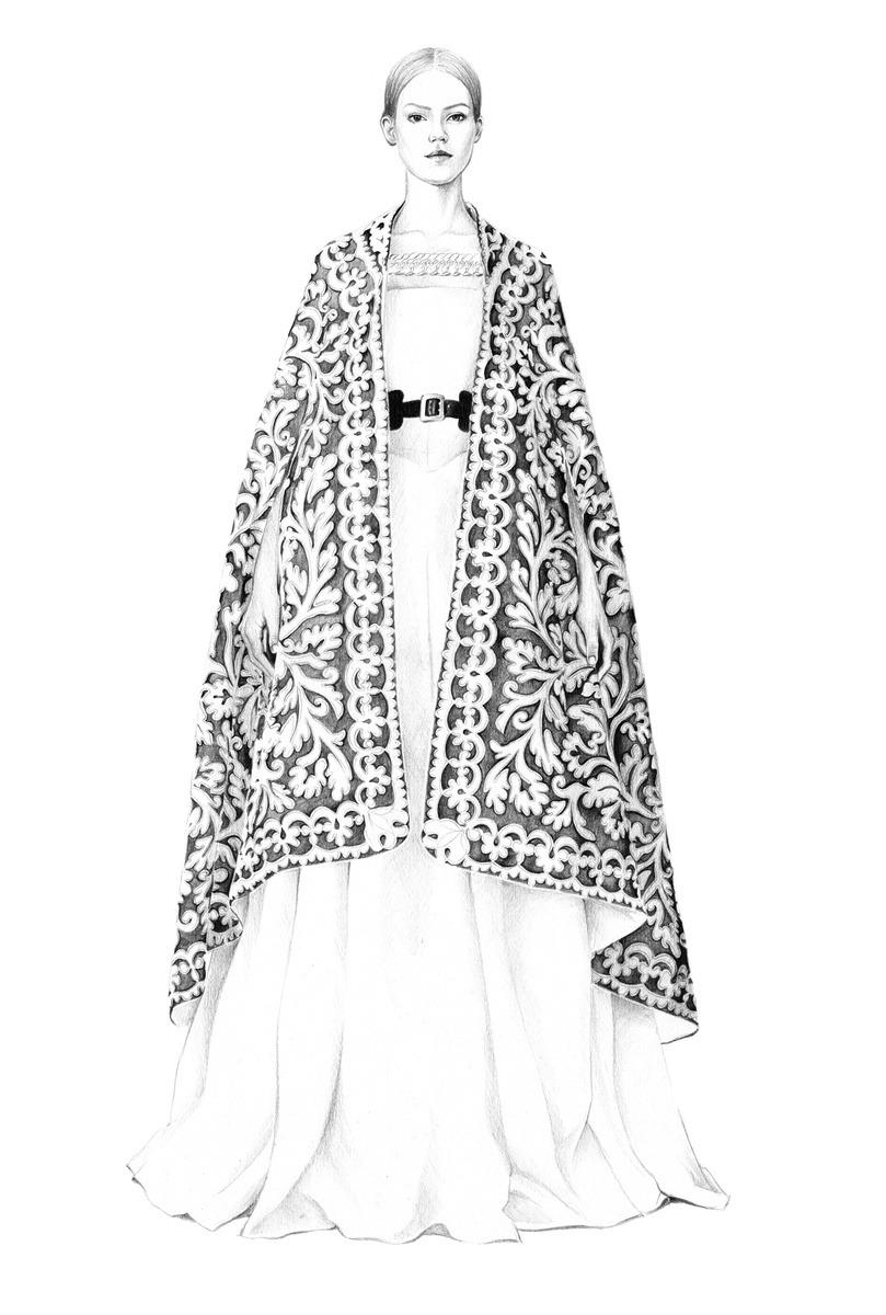 T.S Abe Fashion Illustration Born in 89' under