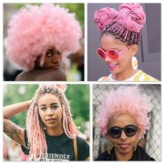 pink-afro